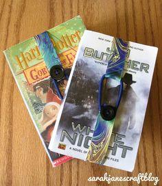 Sarah Jane's Craft Blog: Ribbon Bookmarks