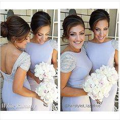 Frost Bridesmaid Dresses