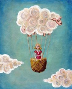 Hot Sheep Balloon, would love this if my little girl had her own room