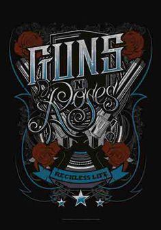 52085 Guns N' Roses - Recklesslife Fabric Poster – Preegle.com