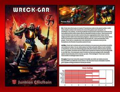 Wreck-Gar by CitizenPayne on DeviantArt