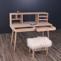 By Tika - Orlando Skrivebord m/overbygning Office Desk, Orlando, Corner Desk, Furniture, By, Bruges, Design, Home Decor, Products
