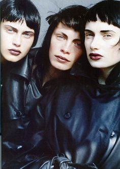 Peter Lindbergh, Vogue Italia, October 1997.