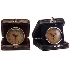 I pinned this 2 Piece Nottingham Travel Clock Set from the Wright Brothers event at Joss and Main!