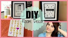 inspirational quote room diys - YouTube