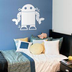 Kids Wall Decals Robot Wall Decal