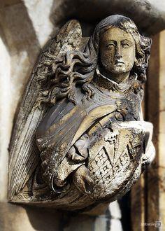 door detail Westminster Abbey, London
