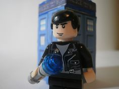 Lego Doctor Who 9th Doctor Close-up