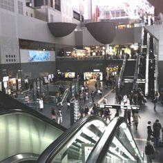 京都駅:My favourite train station. City Streets, Train Station, Kyoto, Transportation, Japan, Travel, Viajes, Destinations, Traveling