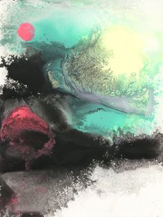 Abstract Painting by Michael Cina, an Artist from the USA.