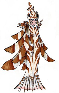 Dragons Palace LionFish Costume by weird-one