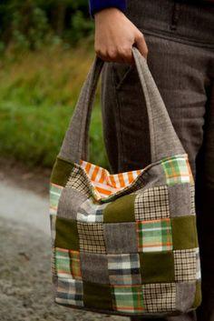 Saídos da Concha: Shropshire Tweed & Tartan Bag