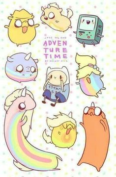 Adventure time..................................OMFG THIS IS THE CUTEST THING IVE SEEN IN MY ENTIRE LIFE