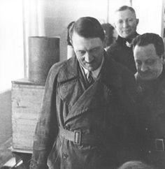 Hitler's hot dark leather coat, 1934.