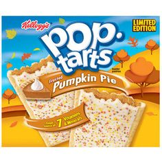 I'm in heaven I bought these the other day and it's one of my favorite pop tarts.  Sucks this islimited edition! I'm a pop tart freak! Best breakfast food in the world.