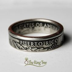 Hey, I found this really awesome Etsy listing at https://www.etsy.com/listing/117428000/puerto-rico-quarter-ring