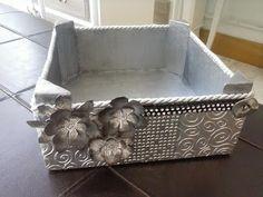Sarriko Arte: Reciclando cajas de fruta