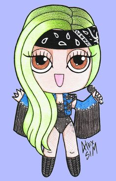 Chibi Lady Gaga Lady Gaga, Women In Music, Be A Nice Human, Cool Drawings, Art Pictures, In This World, Cool Art, Disney Characters, Fictional Characters