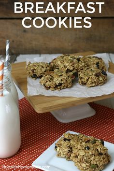 BREAKFAST COOKIES --