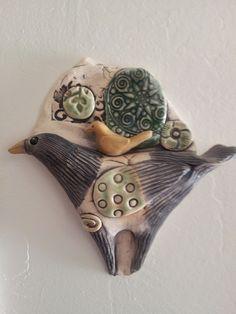 beautiful ceramic wall art