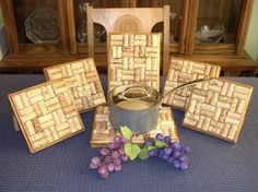 wine cork trivet...what's left after the wine is gone!! all those corks!!  :) #diy