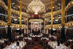 Main Dining Room on the Navigator of the Seas