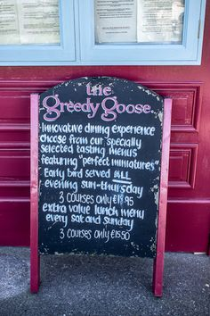 The Greedy Goose Restaurant In Malahide on the to try list...