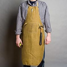 Tin-cloth shop apron