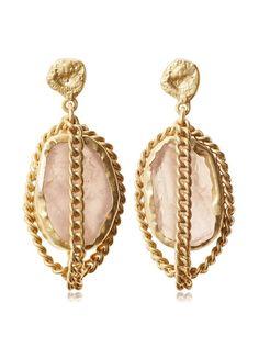 Zariin Rose Quartz Dawn To Dusk Gold Earrings, http://www.myhabit.com/redirect/ref=qd_sw_dp_pi_li?url=http%3A%2F%2Fwww.myhabit.com%2Fdp%2FB00TPLO84O%3F