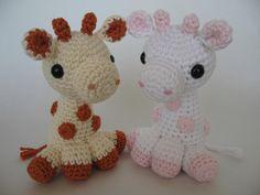 Crocheted Baby Giraffe PDF Pattern. $6.00, via Etsy.