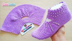 İki Şişle Çeyizlik Boncuklu Patik Modeli Yapılışı #moda #hobi #hobby #elişi #kadın #orgu #knitting