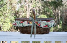 Hey, I found this really awesome Etsy listing at https://www.etsy.com/listing/260339156/country-basket-keeper-picnic-vintage