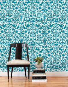 Otomi (Turquoise) Tiles - banheiro das criancas