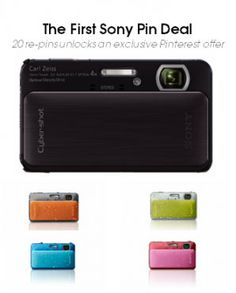 Sony are running this deal for 4 consecutive weeks with different products such as the Cyber-shot® TX20 and the Walkman® Z Series on special offer each week. Better still, they are definitely suggesting that there will be more to come if the project is a success.