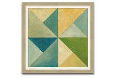 Embellished Quilted Abstract IV on OneKingsLane.com $189