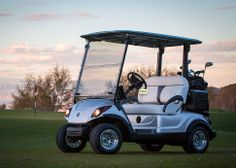 Yamaha's New Drive PTV Golf Cart - Check it out! Sweet!
