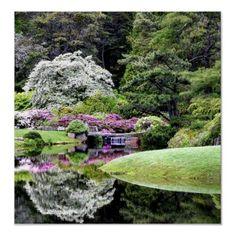 Asticou Gardens in Maine