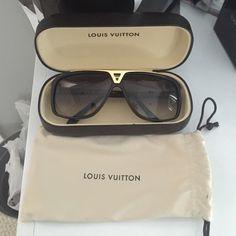 Louis Vuitton Sunglasses Brand new comes with case pouch and original box n receipt $500 ️️ Louis Vuitton Accessories Sunglasses