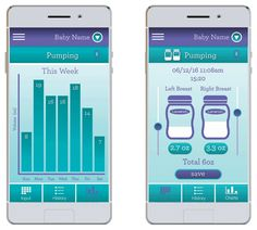 Breastfeeding at Work Tips: Lansinoh Baby App connects to their Electric Breast Pump
