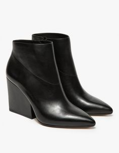 ˚Loeffler Randall   Lia Thick Heel Bootie   The madre just bought these for me as a New Year's gift from Saks! :)