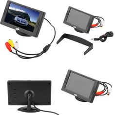 4-3-034-LCD-TFT-Car-RearView-Headrest-Color-Monitor-For-Car-Reversing-Camera-GPS-UU