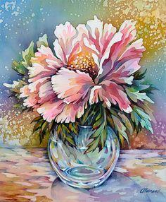 Iris original painting on silk flower painting 20 x 25 cm 8 x original painting on silk flower painting 20 x 25 cm 8 x 10 ready to ship pinterest silk flowers original paintings and iris mightylinksfo