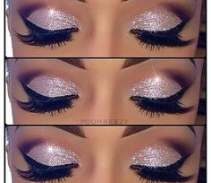 Sparkle and Shine Makeup Look @Luuux