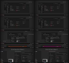 After Dark Orange and Pink Theme Windows10 Fall Creators Update 1709   Download https://www.cleodesktop.com/2017/10/after-dark-orange-and-pink-theme.html #Cleodesktop #Windows10