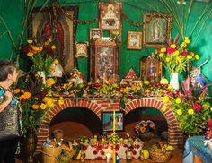Day of the Dead ofrenda, Oaxaca 2015