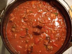 Bacon, Ground Beef, and Bean Chili - http://healthylifemix.com/bacon-ground-beef-and-bean-chili/ #Bacon, #Bean, #Beef, #Chili, #Ground #Recipes #HealthyLifeMix