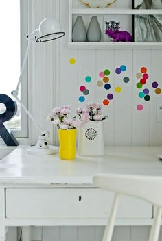 3 Ways to do, dots on the wall