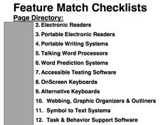 pdf....Feature Match Checklist for Making Decisions About AAC Apps...link from http://praacticalaac.org/praactical/119-free-lite-versions-of-aac-apps-app-selection-resources/
