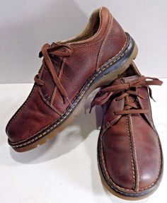 DOC MARTENS Size 12 Brown Leather Men Derby Shoe 3 Eye Split Toe  Lace Up EU 47 #DrMartens #Derby