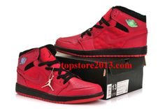 Air Jordan 1 Retro '97 Gym Red/Black      #Red  #Womens #Sneakers